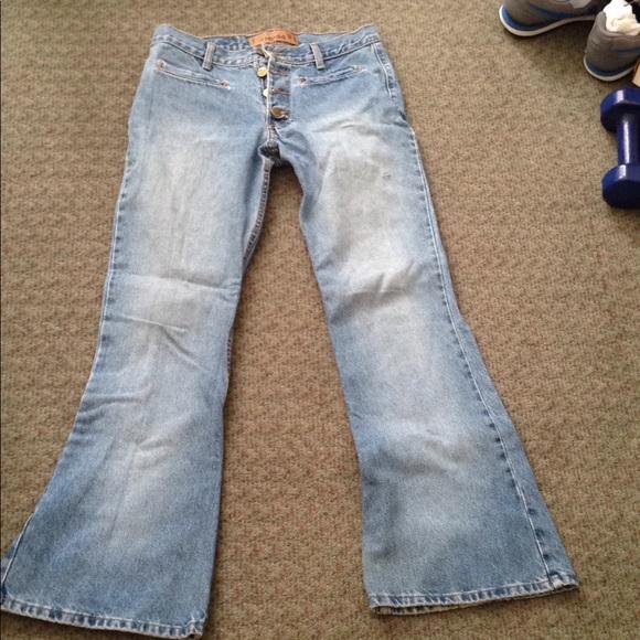b47cfa8c88af6 Mudd Jeans | Vintage Bell Bottom Broken In Juniors 9 | Poshmark